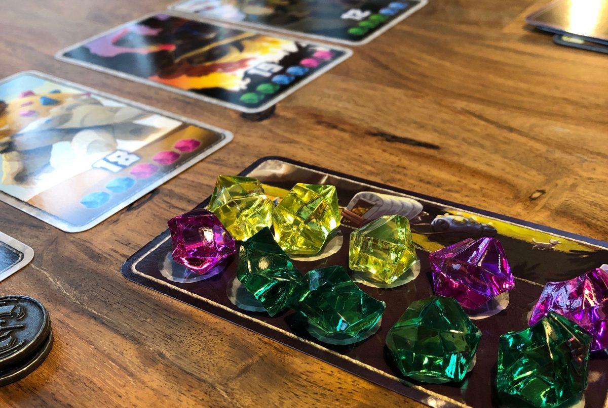 In progress game of Century: Golem Edition
